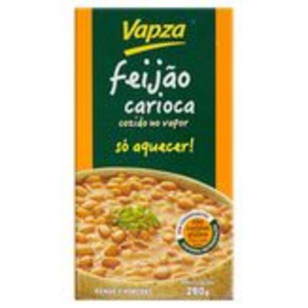 Oferta de Feijão Carioca Pronto Vapz Caixa 280g por R$8,49