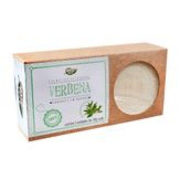 Oferta de Sabonete em Barra Verbena Mato Doce Pack com 2 Unidades 110g Cada por R$20,99