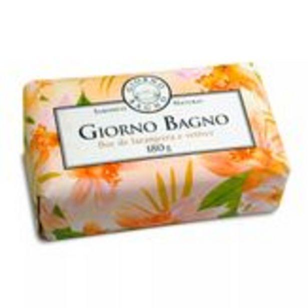 Oferta de Sabonete em Barra Flor de Laranjeira e Vetiver Giorno Bagno Pacote 180g por R$14,99
