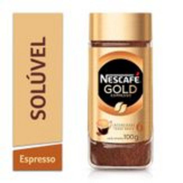 Oferta de Café Solúvel Espresso Nescafé Gold Pote 100g por R$18,98