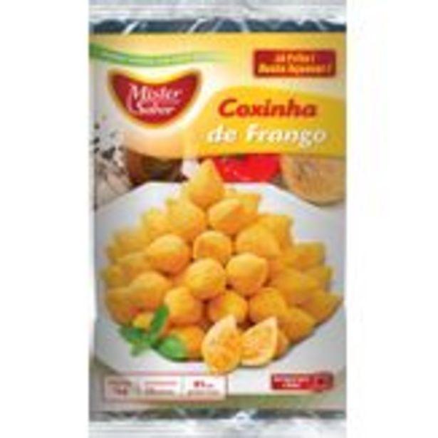 Oferta de Coxinha de Frango Frito Mister Sabor Pacote 1kg por R$32,99