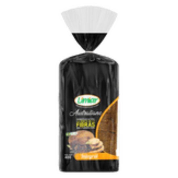 Oferta de Pão de Forma Integral Australiano Limiar Pacote 400g por R$5,55