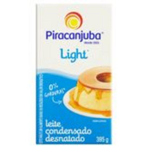 Oferta de Leite Condensado Desnatado Light Piracanjuba Caixa 395g por R$5,17
