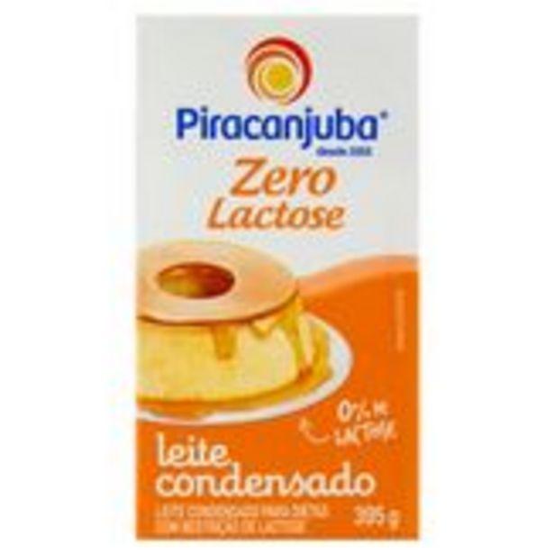 Oferta de Leite Condensado Zero Lactose Piracanjuba Caixa 395g por R$5,17
