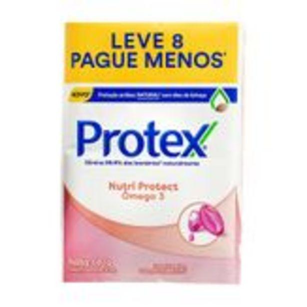 Oferta de Sabonete em Barra Protex Ômega 3 Pack com 8 Unidades 85g Cada por R$13,47