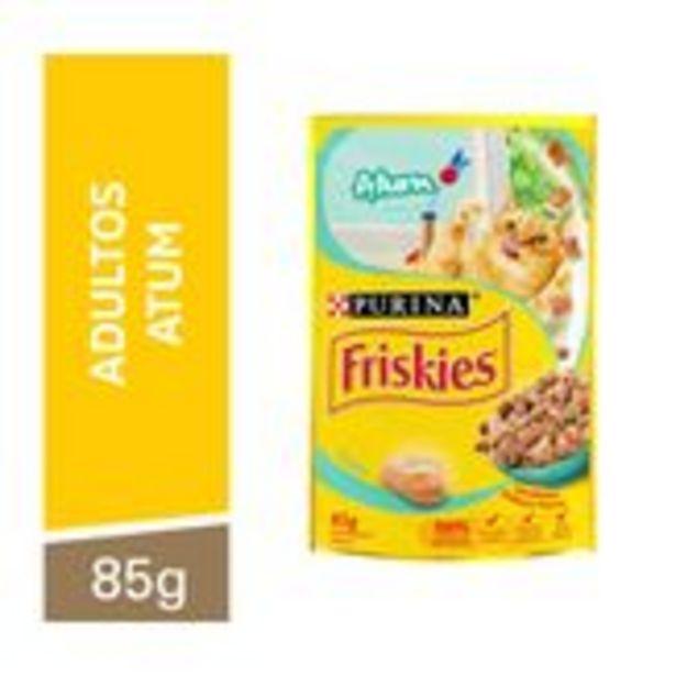 Oferta de Alimento para Gatos Adultos Atum Friskies Purina Sachê 85g por R$29,59
