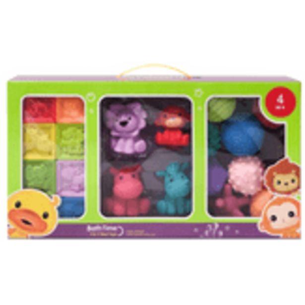 Oferta de Conjunto de Brinquedo Hora do Banho 4+ YF 20 Unidades por R$99,99