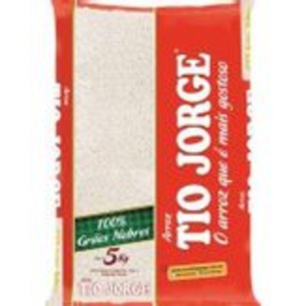 Oferta de Arroz Branco Tio Jorge Pacote 5kg por R$22,39