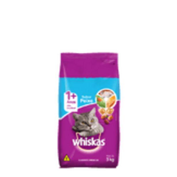 Oferta de Ração Whiskas 3kg Peixe por R$53,99