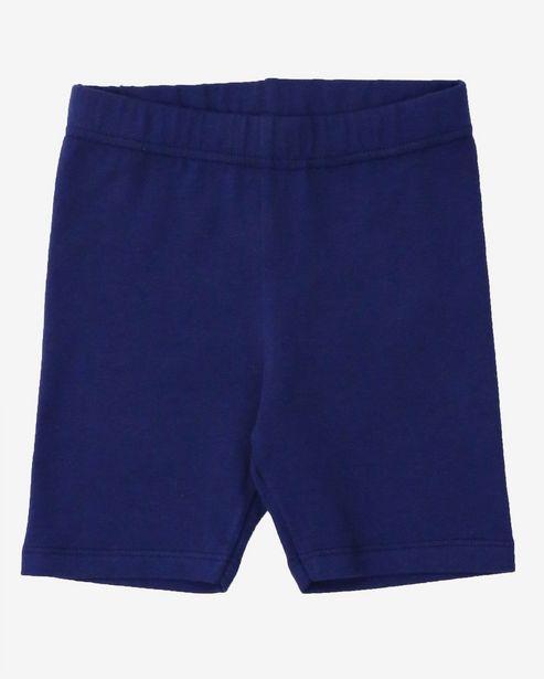 Oferta de Short Ciclista Liso - Azul Marinho por R$12,9