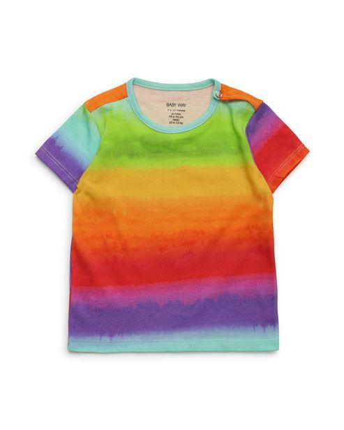 Oferta de Camiseta Bebê Manga Curta - Multicor por R$15,9