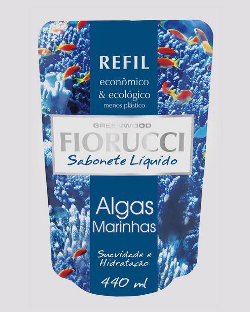 Oferta de Refil Sabonete Líquido Algas Marinhas Fiorucci por R$5,9