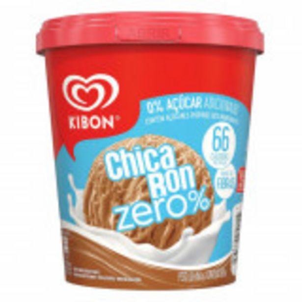 Oferta de Sorvete Chicabon Kibon Zero% Pote 800ml por R$21,9