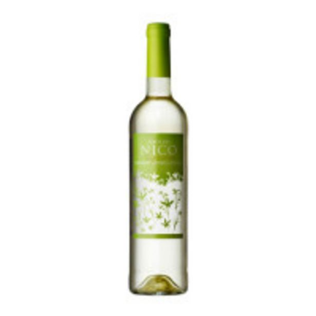 Oferta de Vinho Branco Português Fonte Do Nico 750ml por R$51,99