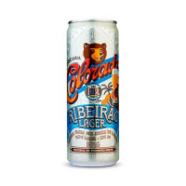Oferta de Cerveja Brasileira Colorado Ribeirão Lager Lata - 350ml por R$5,49