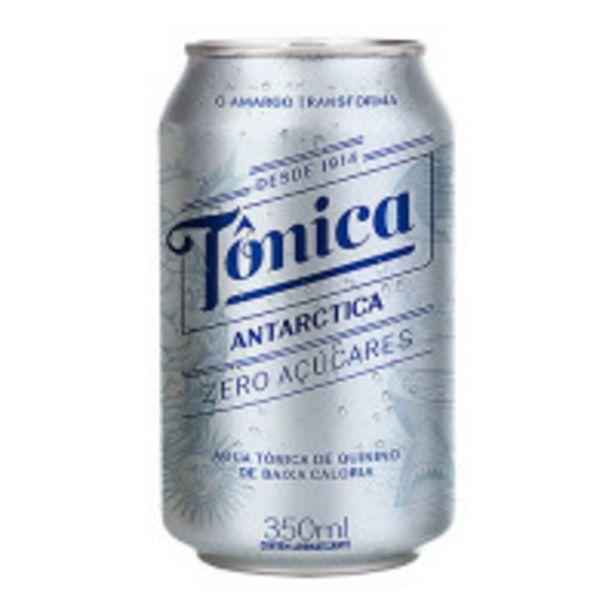 Oferta de Água Tônica ANTARCTICA Zero Açúcar Lata 350ML por R$3,29