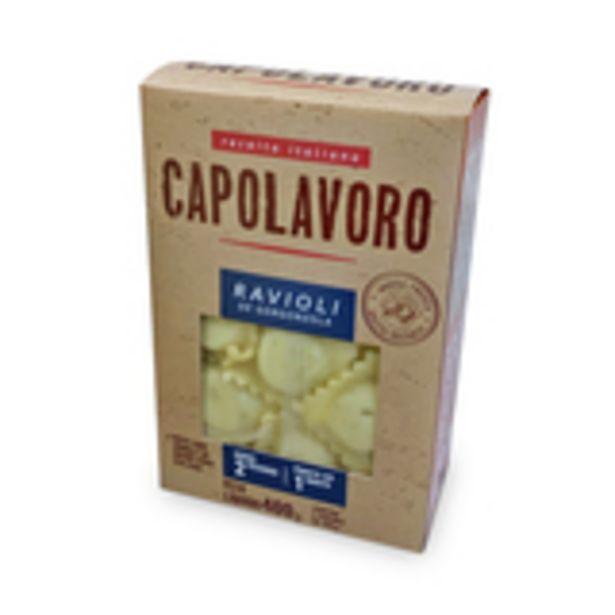 Oferta de Ravioli de Gorgonzola Capolavoro 400g por R$19,99