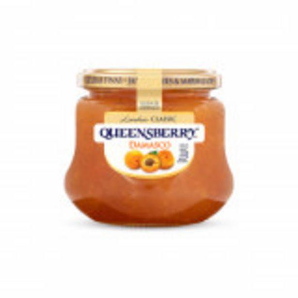 Oferta de Geleia Damasco Queensberry Classic Vidro 320g por R$18,99