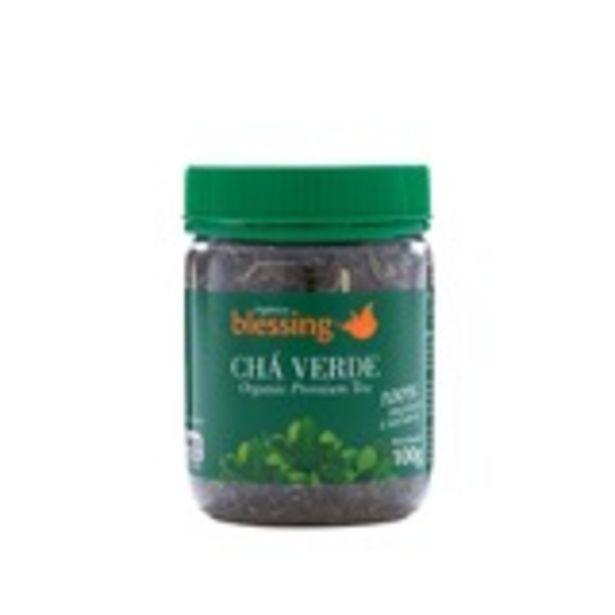 Oferta de Chá Verde Orgânico Blessing - 100g por R$29,99