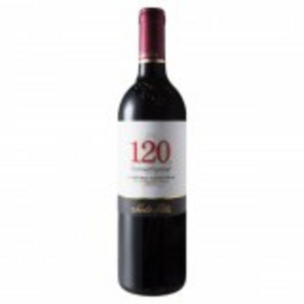 Oferta de Vinho Chileno Tinto Seco Reserva Especial 120 Cabernet Sauvignon Valle Central Garrafa 750ml por R$49,99