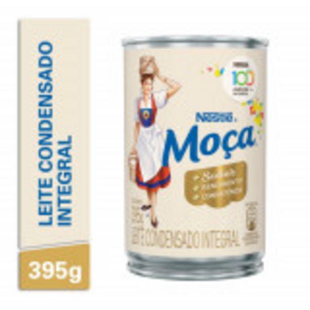 Oferta de Leite Condensado MOÇA Lata 395g por R$7,79