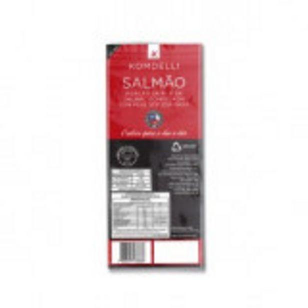Oferta de Salmão em Pedaços Congelado Komdelli - 125g por R$13,99