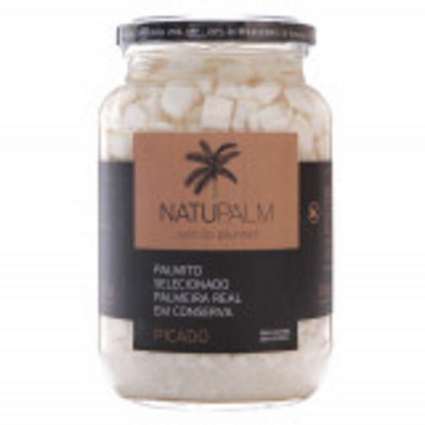 Oferta de Palmito Picado Palmeira Real Natupalm - 300g por R$11,99
