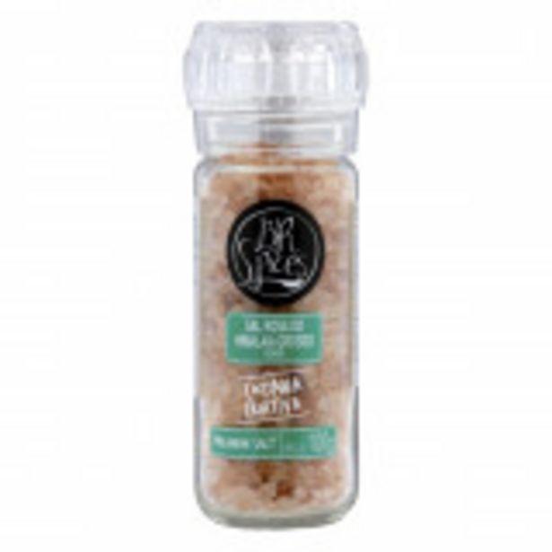 Oferta de Sal Rosado Himalaia comMoedor BR Spices-100g por R$17,99