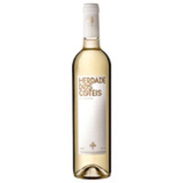 Oferta de Vinho Branco Português Herdade Dos Coteis 750ml por R$59,99