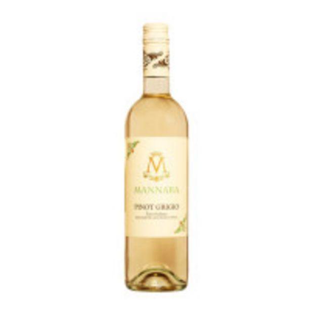 Oferta de Vinho Mannara Pinot Grigio 750ml por R$69,99