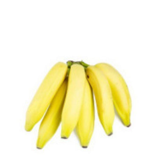Oferta de Banana Prata Orgânica - 1 unidade por R$0,66