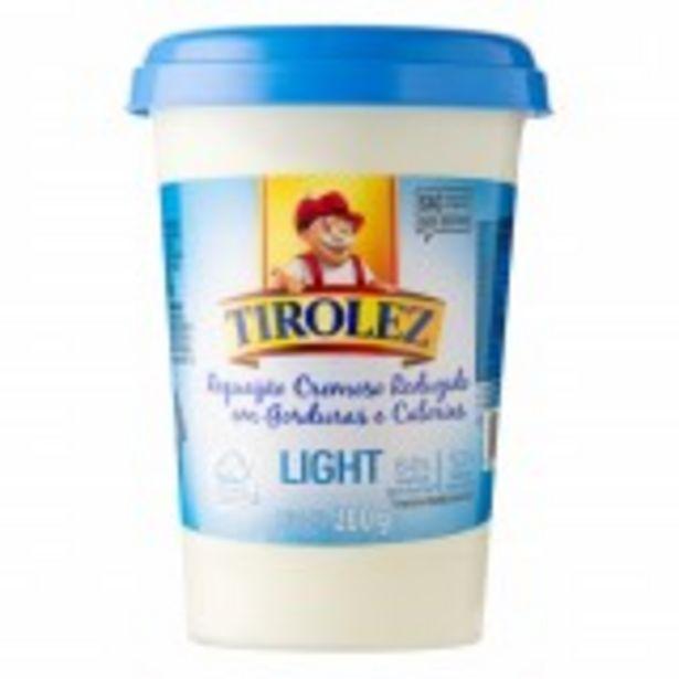Oferta de Requeijão Cremoso Light Tirolez Copo 200g por R$6,99