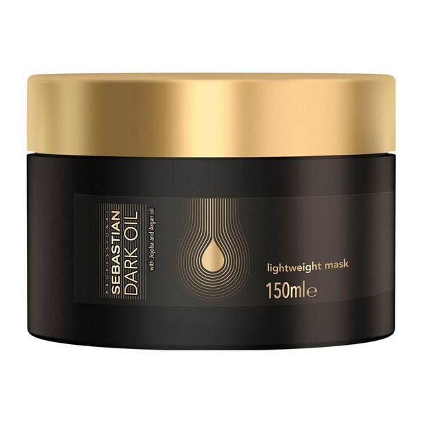 Oferta de SEBASTIAN Máscara de Tratamento Capilar Sebastian Professional Dark Oil por R$161