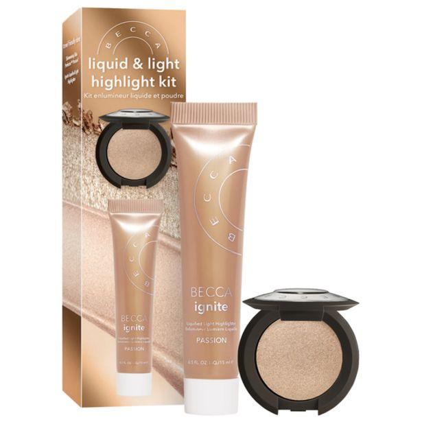 Oferta de Kit de Iluminadores Becca Shimmering Skin & Light Highlight Kit por R$132