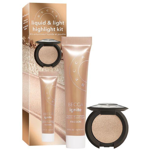 Oferta de BECCA Kit de Iluminadores Becca Shimmering Skin & Light Highlight Kit por R$132
