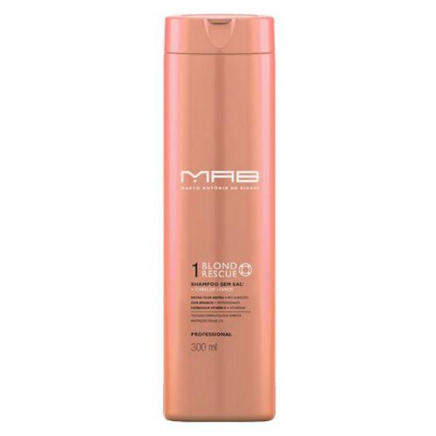 Oferta de MAB - MARCO ANTONIO DE BIAGGI Shampoo MAB Blond Rescue por R$49