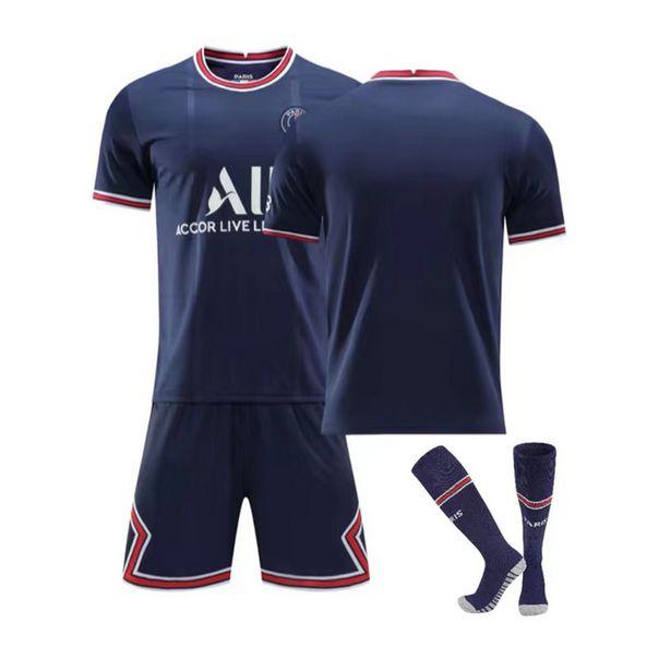 Oferta de 2022 jogos de futebol crianças adultos conjuntos de camisas de futebol survetement homens criança correndo jaquetas treinamento esportivo uniformes treino terno por R$114,25
