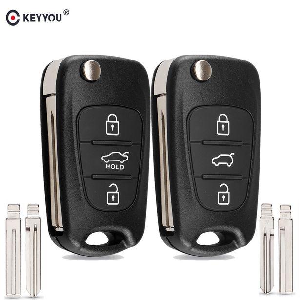 Oferta de Keyyou carcaça de chave remota por R$4,4