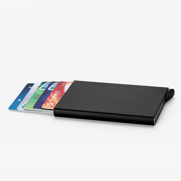 Oferta de Porta-cartão de crédito masculino por R$3,03