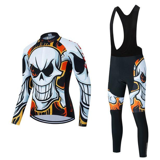 Oferta de Camisa masculina de manga longa para ciclismo por R$111,66