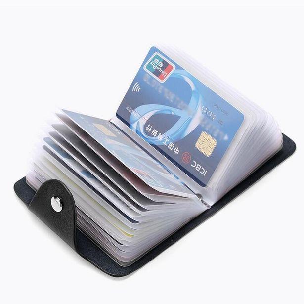 Oferta de Carteira organizadora para cartão de crédito por R$5,21