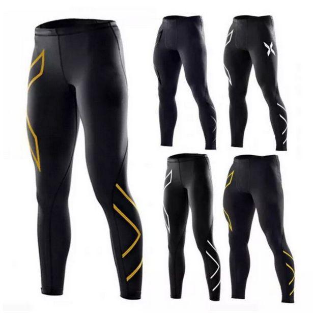 Oferta de Calça leggings de compressão para homens por R$64,23