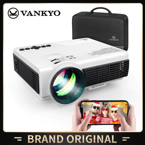 Oferta de Vankyo-mini projetor de 3w para dispositivos ios e android por R$462,7