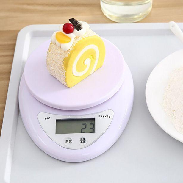 Oferta de Balança digital portátil de alimentos por R$10,42