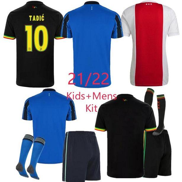 Oferta de Camisa de futebol ajaxes para crianças e adultos por R$98,75