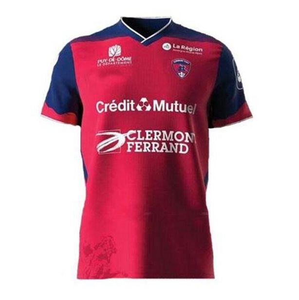 Oferta de Camisa de clermont 2021 2022 maillot de pé bayo dossou allevinah berthomier masculino camisa de futebol por R$98,32