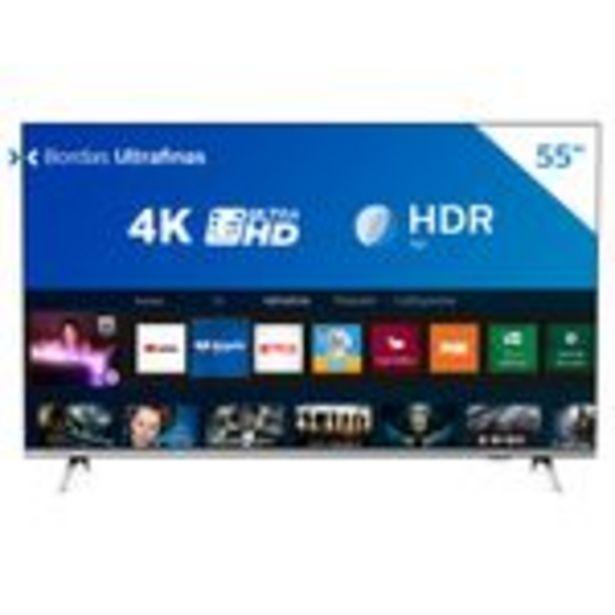 "Oferta de Smart TV 55"" Philips 55PUG665478 4K WiFi 3 HDMI por R$3619,9"