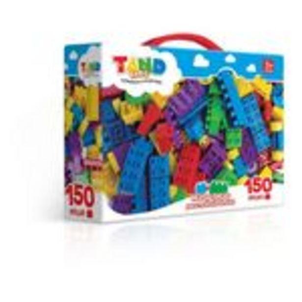 Oferta de Maleta Bloco de Montar Tand Kids - 150 Peças - Toyster por R$129,99