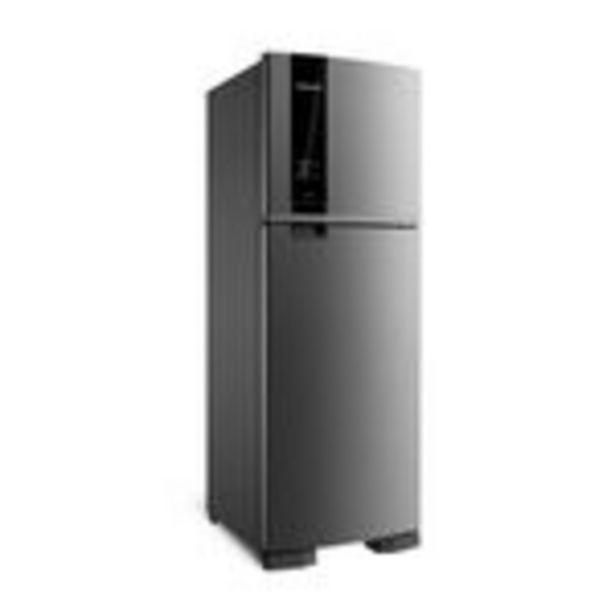Oferta de Refrigerador Brastemp Frost Free BRM45HK 375L Inox por R$2999,9