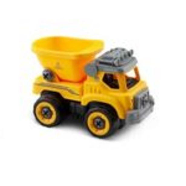 Oferta de Carrinho de Roda Livre com Som - Caminhão de Construção - City Machine - Multikids por R$149,99